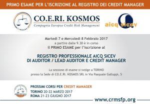 Credit Manager - Credit Risk Management