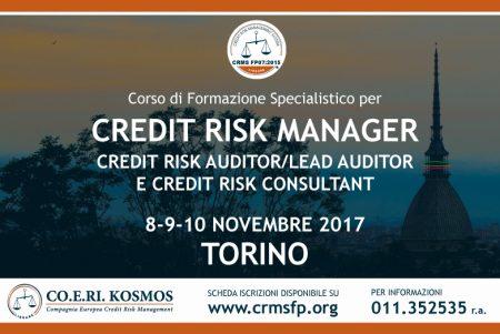 corso di formazione per credit manager torino 2017