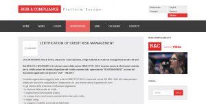 Risk & Compliance CRMS FP 07:2015