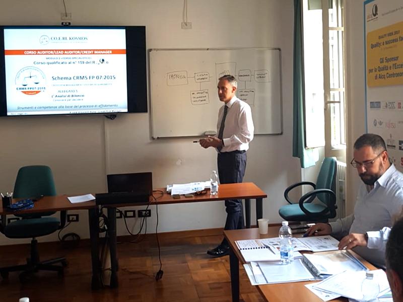 Corso di Formazione Specialistico per Credit Risk Manager